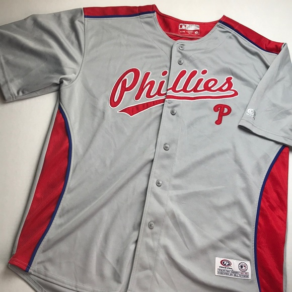 best sneakers c4f87 31b6f Men's xl Philadelphia Phillies baseball jersey